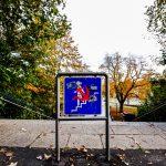 Straßenschild Treppe in Kassel