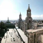 Blick auf Arequipa