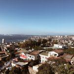 Blick auf den Hafen von Valparaiso