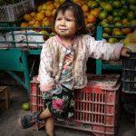 Shopping Girl in Peru