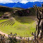 Ackerbauanlage der Inkas von Moral
