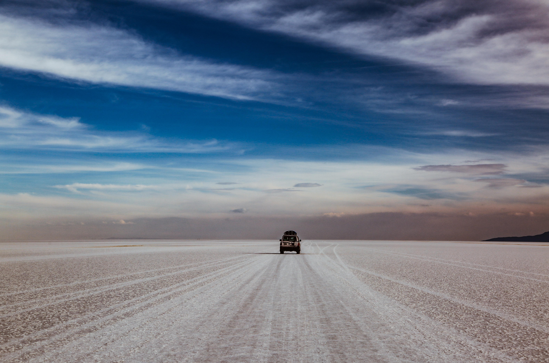 Quer durch die Uyuni Wüste