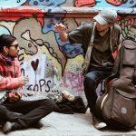 Straßenmusiker in Valparaiso