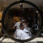 Barbier in der Jerusalemer Altstadt