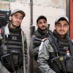 Israelische Sicherheitskräfte in der Jerusalemer Altstadt