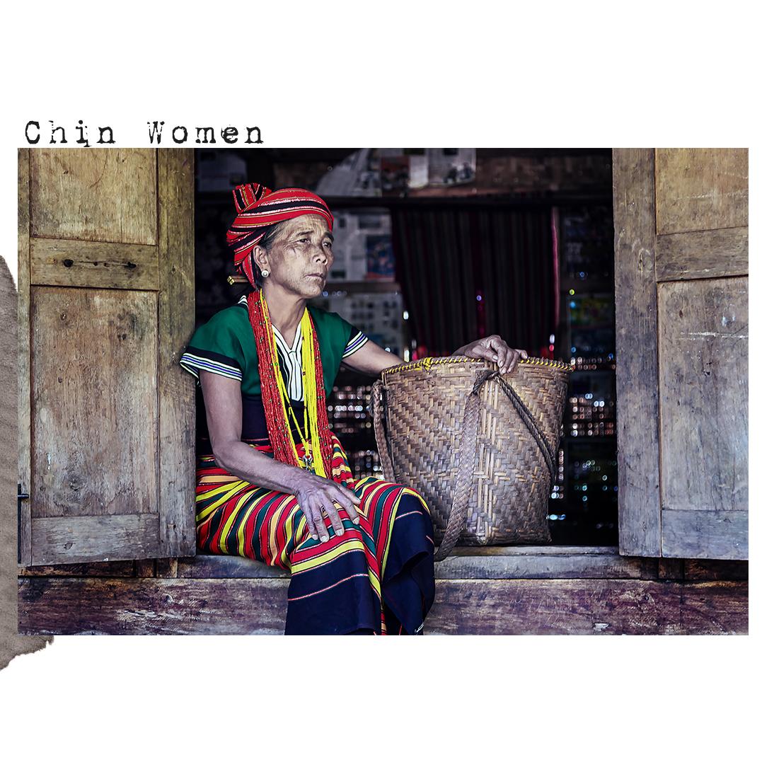Chin women from Myanmar