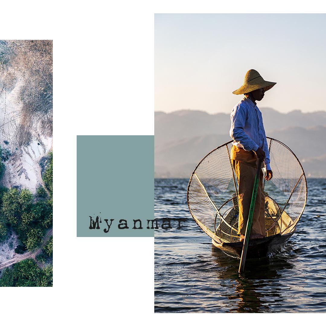 Fisherman from Inle Lake Myanmar
