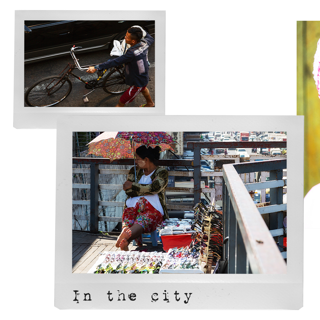 in the city of Yangon