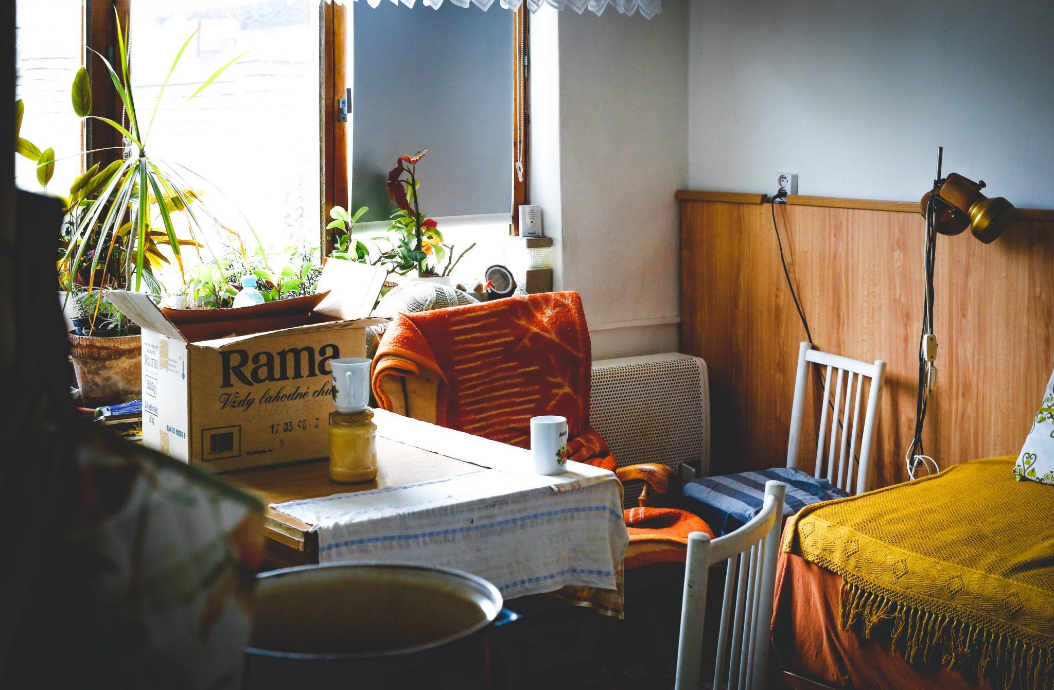Küchentisch am Fenster