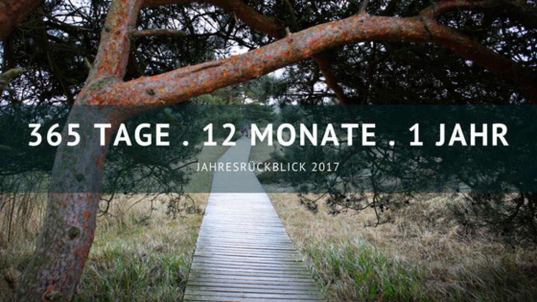 365 Tage – 12 Monate – ein Jahr: Jahresrückblick