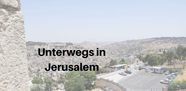 Streetfototour in Jerusalem